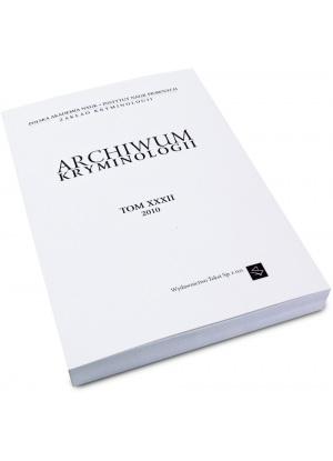 Archiwum Kryminologii (e-book)