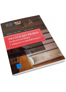 Przegląd Prawa Europejskiego i Międzynarodowego (e-book)