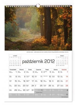 Kalendarz 7-planszowy indywidualny ścienny A3